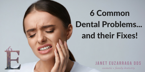 Six Common Dental Problems and Their Fixes
