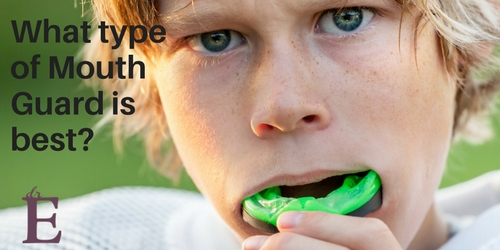 The Best Type of Mouth Guard to Use for Sports